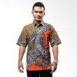 Batik Distro Kemeja Pola Campuran K5950