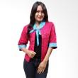 Batik Distro Sailor Cardigan Pink B9161