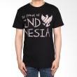 Be Proud of Indonesia Chalkboard Tees - Hitam