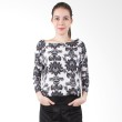Blaize Abstract Floral Blouse