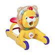BRIGHT STARTS Step n Ride Lion 52093 Yellow Mainan Anak [3 In 1]