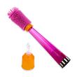 Sassy No Scratch Bottle Brush Pink 30133