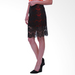 Schon Couture Ellen Skirt Red Rok