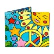 Mighty Wallet Peace and Love Tyvek