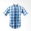 Tom Tailor Short Sleeve Checkered All Blue