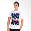 UrbanCo T-Shirt America 4 White