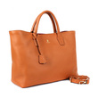 BRERA Classic Daily Soft Leather Large Brown Tas Wanita