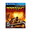 PS VITA Resistance: Burning Skies