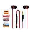Sound Magic In Ear Sound Isolating EarphoneE10 Black Red