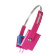 Zumreed ZHP-008 Color earpad portable headphones Pink