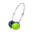 Zumreed ZHP-013 Airily portable wire headphones Green