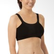 Carriwell Seamless Organic Cotton Comfort Bra Black