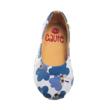 Caute Light Blue Flower Girls Flats - Sepatu Anak