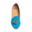 Caute Tosca Low Heel Loafer with Tassels Flats