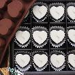 Cetakan Jelly United Heart Cetakan Coklat or Puding