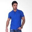 Clothmakers Premium Cotton Polo Blue