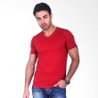 Clothmakers Premium Cotton V Tees Ruby Wine