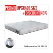 Promo Get Bigger Offer Up Grade Size - Comforta Super Pedic Kasur + Bantal