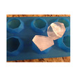 Cooks Habit Silicone Mould Diamond Shapes Red Cetakan Kue