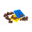 Cooks Habit Silicone Mould Lego Guy Dark Pink Cetakan Kue