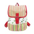 Delarosa Butterfly Backpack Red Green