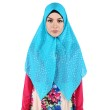 Diyaz Dotty Blue Hijab