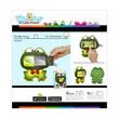 Wise Pet for Smartphone Mini Frog Hijau Mainan Anak