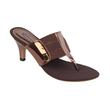 Gareu&Co ARC Heels G5080 Sandal Wanita - Gold Combi Brown