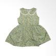 Gleoite Wardrobe Bunga Hijau Dress Anak