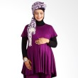 Hanaroo Maternity & Nursing Wear Klok Purple