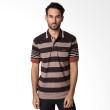 Bytago Stripe 132 Black Polo Shirt