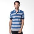 Bytago Stripe 132A Blue Polo Shirt
