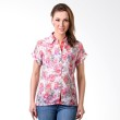 Puricia Ladies 393 Red Blouse