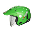 Cargloss AHRS Former Solid Esia Green Helm Half Face