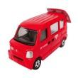 Tomica 68 Suzuki Post Van Red Diecast