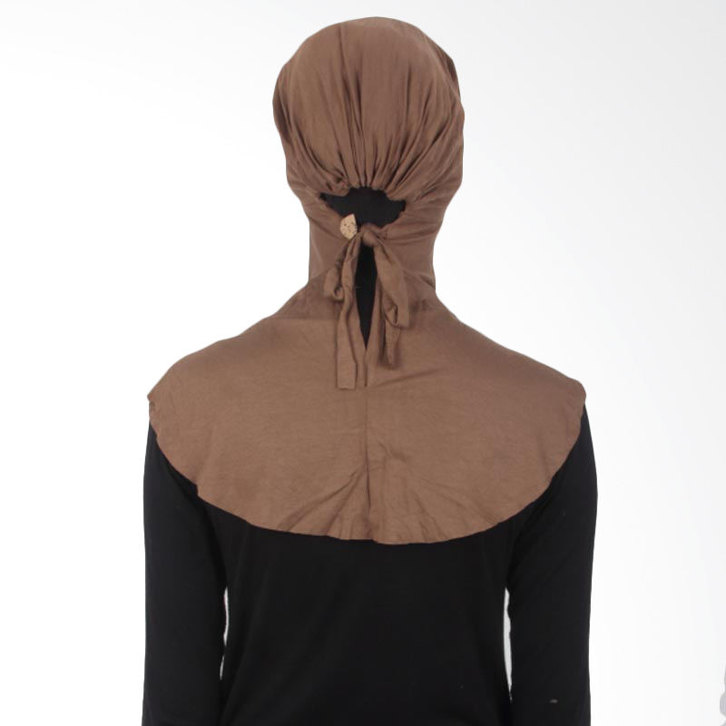 House of Deyna Inner Kerudung Tali Full Covered Brown