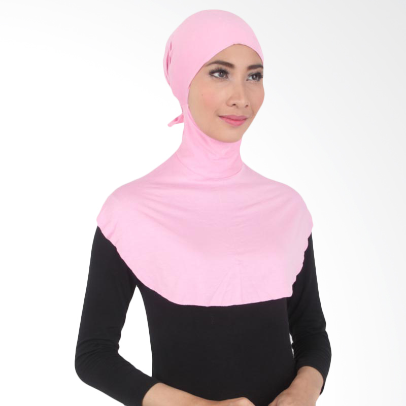 House of Deyna Inner Kerudung Tali Full Covered Soft Pink