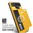 Verus Damda Slide Special Yellow Casing for Galaxy S6 Edge
