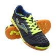 Joma Super Regate SREGS.403.PS Sepatu Futsal (44.0) (Black, blue, lime)