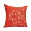 Kainkain Orange Lily Pillow Cover