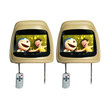 AVT HM 7088 Headrest Light Beige TV Mobil