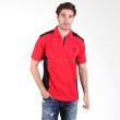 Labette Polo Shirt 102461207 Red and Black