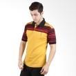 Labette Polo Shirt Yellow Stripe Black 103151204