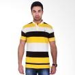 Labette Polo Shirts Yellow Stripes
