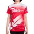 Li Ning Ladies Round Neck Tee Team Indonesia ATSJ363 Jersey Badminton