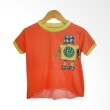 Little Heirloom Taylor Tee Bright Orange