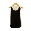 Little Heirloom Vanessa Vest Top Black and White