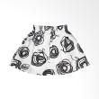 Little Superstar YinYan Skirt White