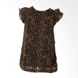 Little Superstar Tinny Leopard Black Atasan Anak Perempuan