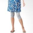Mamaway Crinkled 3/4 Length Maternity Legging Bright Grey